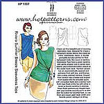 HotPatterns 1137 Riviera Summer Breeze Tops pattern envelope